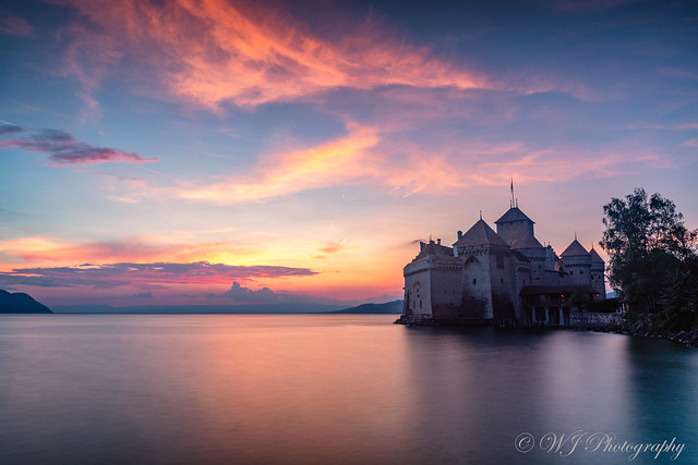 Castle and Sunset