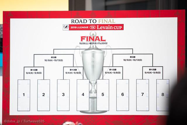 20190728 JリーグYBCルヴァンカップ トーナメント表 / Levain Cup Open Draw