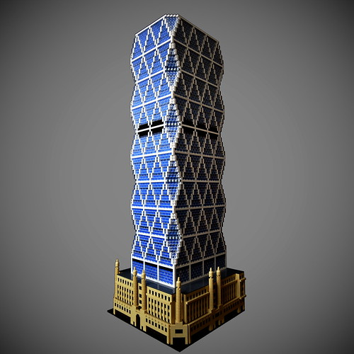 LEGO Hearst Tower