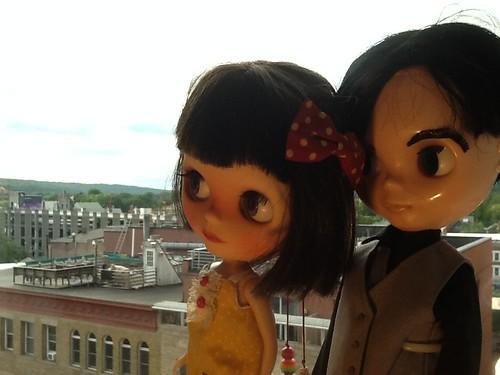 Blythe-a-Day 2 - Valley of the Dolls: Jimmy&Scout La Rue