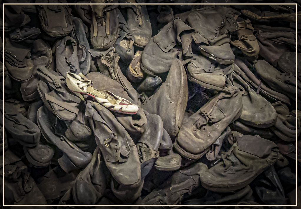 Holocaust Shoes,Aushwitz, Poland