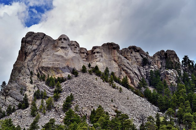 The Four US Presidents of Mount Rushmore