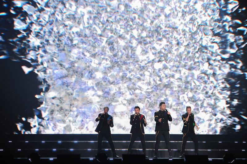 Konsert Westlife The Twenty Tour