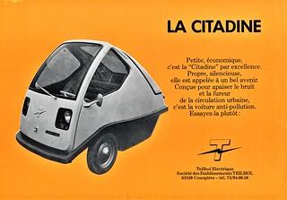 1970 Teilhol Citadine Electric Car