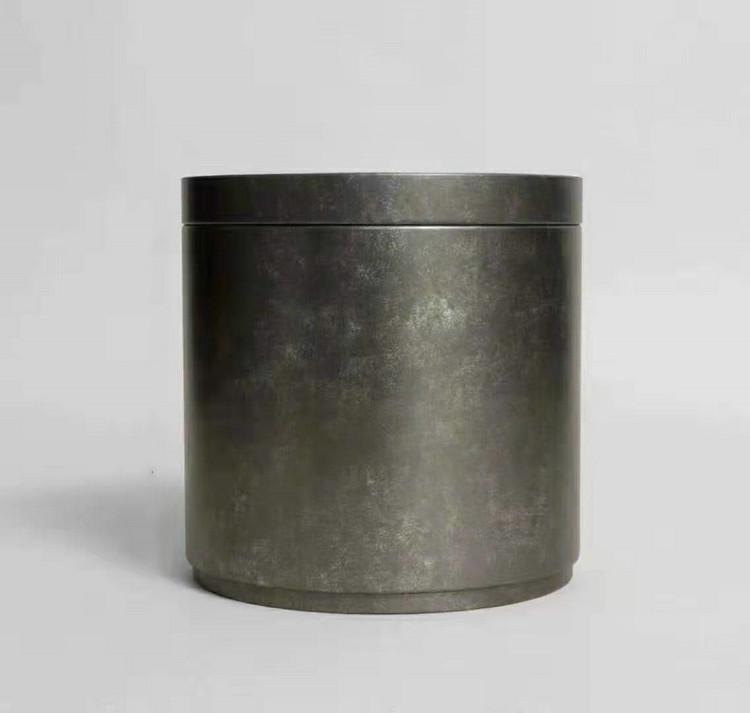 Tin Can for Storing Puerh / White Tea Cake / Loose Leaf