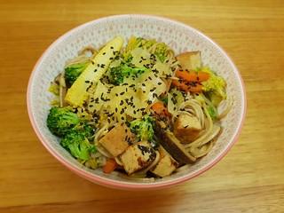 Vegan Yakisoba