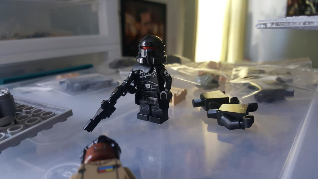 First design of the Purge Trooper in lego