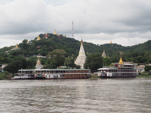 Irrawaddy boat stop