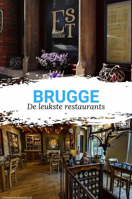De leukste restaurants in Brugge, bekijk alle tips | Mooistestedentrips.nl