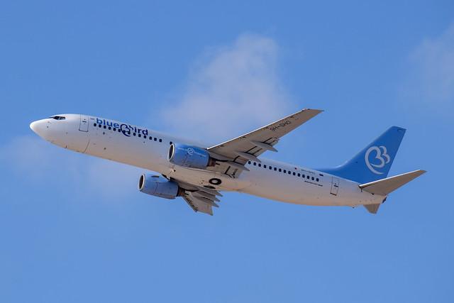 Bluebird Airways B738, 9H-SHO, TLV-BUD
