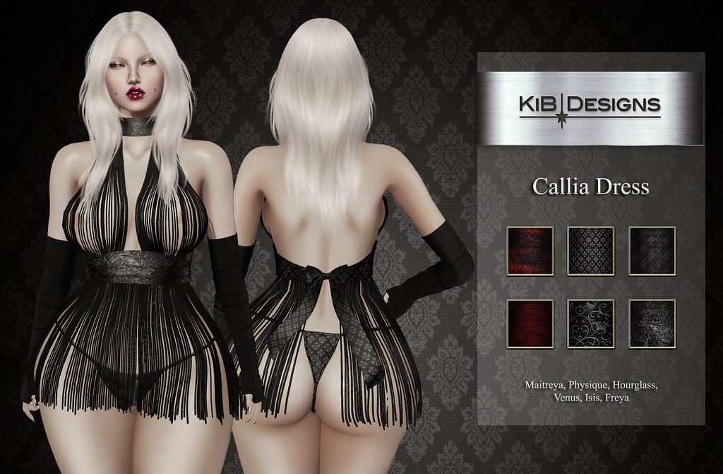 KiB Designs – Callia Dress @Suicide Dollz