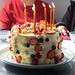 Birthday cake made by my sister Juji