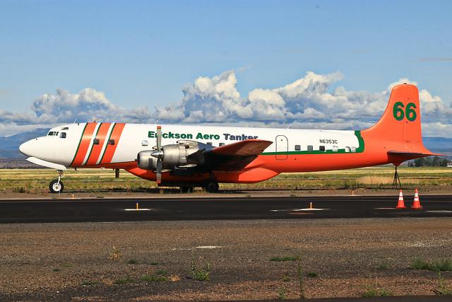 N6353C Douglas DC-7 of Ericson Aero Tanker at Madras/OR