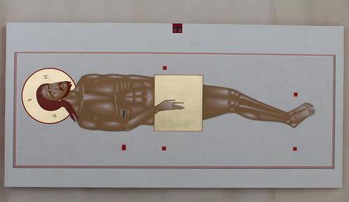 Jesus Christ in tomb 2019 34x70