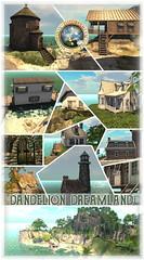 Dandelion Dreamland Rentals - Poster