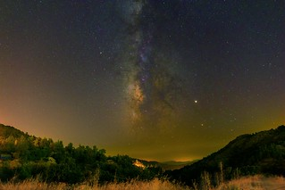Milkyway over Agros (Cyprus)