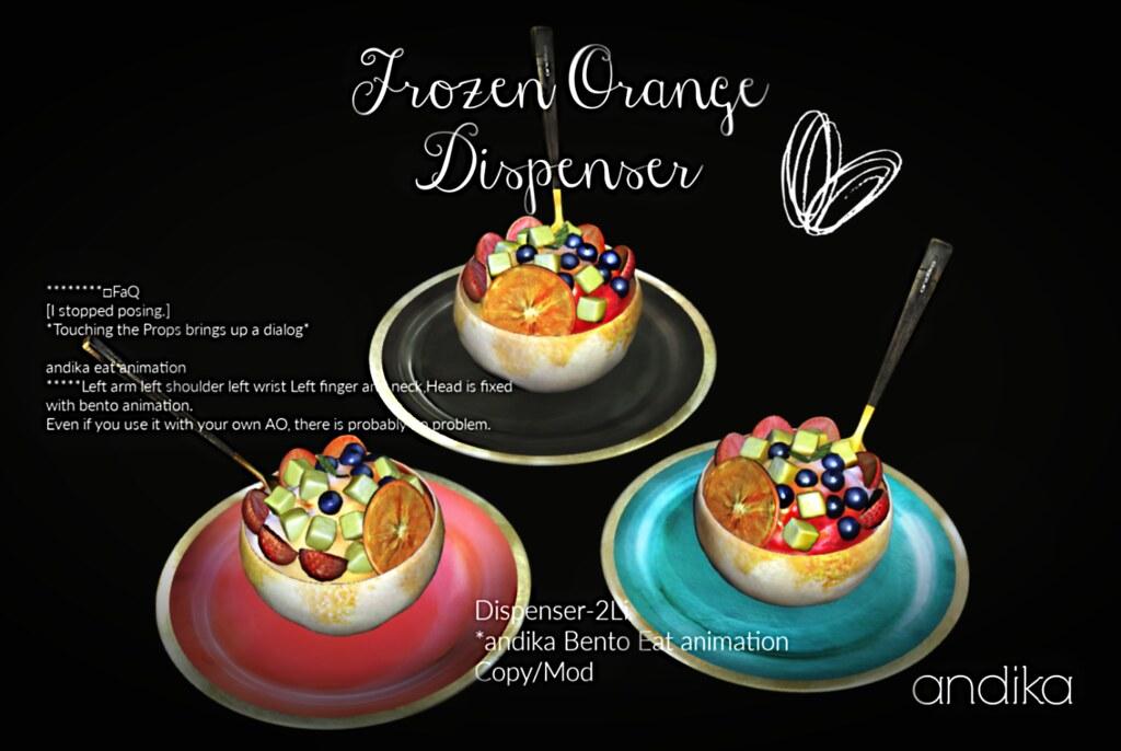 andika Group Gift[Frozen orange]Dispenser