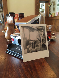 2019-08-10-Kasabım; Polaroid SX-70; Polaroid Originals SX-70 B&W film