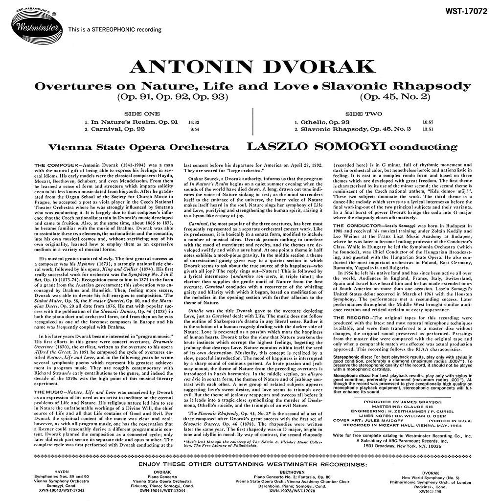 Antonín Dvořák - Tone Poems