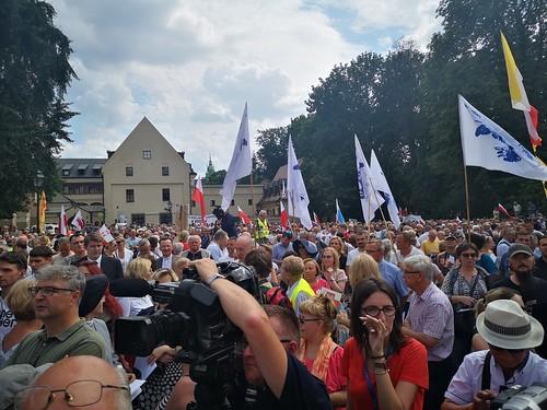 Modlitwa za Ojczyznę , Kościół i Metropolitę pod krakowską kurią | Abp Marek Jędraszewski, 10.08.2019 r.