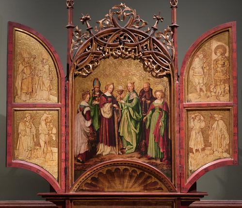 The Fourteen Auxiliary Saints 074c