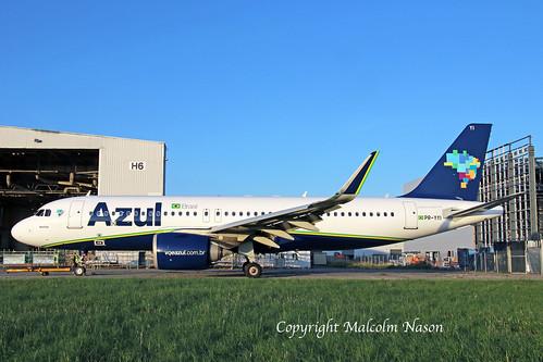 A320-251N PR-YYI AZUL