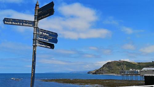 Exploring Aberystwyth