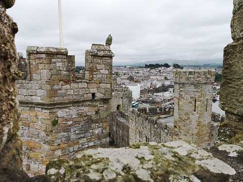 Eagle tower, Caernarfon Castle