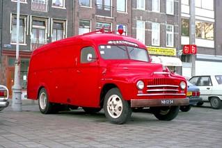 """NB-12-34 International L160 """"Brandweer Wassenaar"""""""