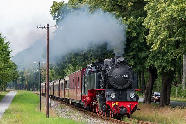Dampfeisenbahn Molli - Steam Railway Molli  4409
