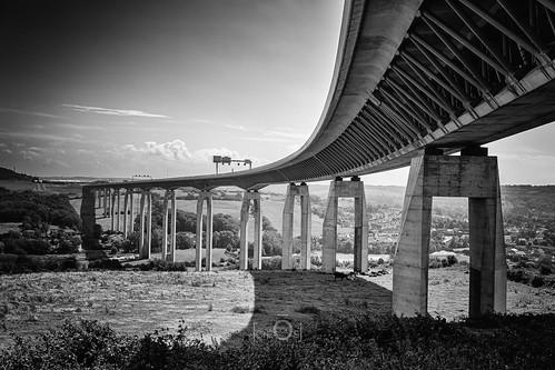 echinghen pasdecalais france pont bridge viaduc courbe curve architecture paysage landscape