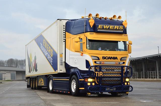 D-Ewers Transporte-Scania Streamline V8 R TL