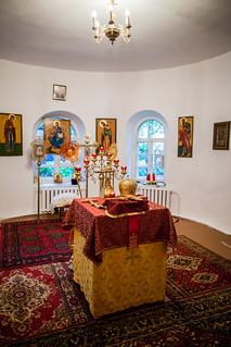 09.08.2019 | Литургия в храме целителя Пантелеимона