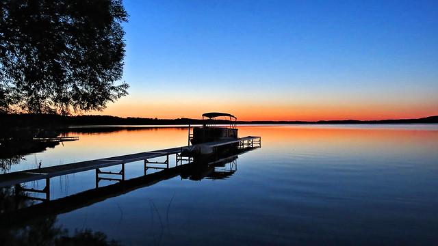 Stillness before sunrise