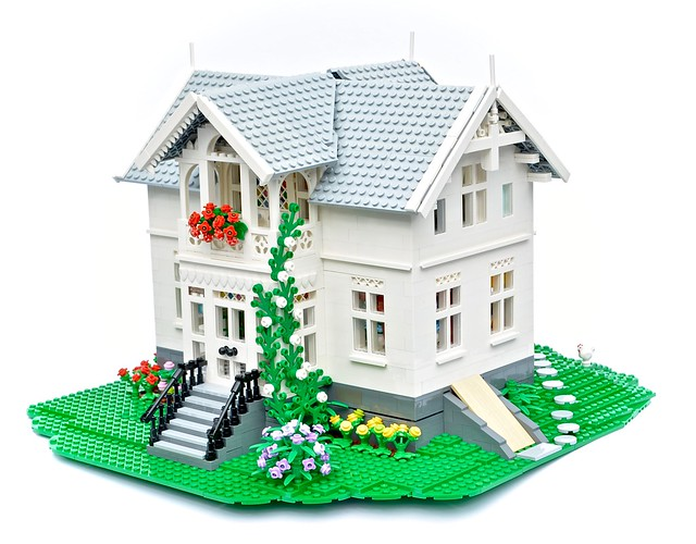 LEGO Norwegian Architecture House