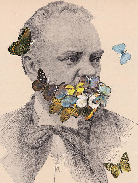BEARDS R US: When Not Composing, Antonin Dvorak Tended to His Butterfly Garden and They Rewarded Him