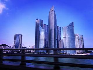 Futuristic Buildings in Busan, South Korea