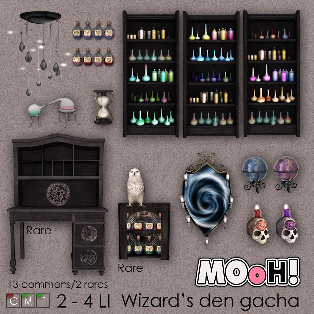 MOoH! Wizard's den gacha