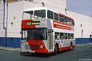 SGR789V Arriva North East previously Northumbria 566
