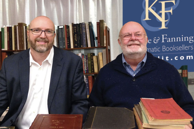 David Fanning and George kolbe