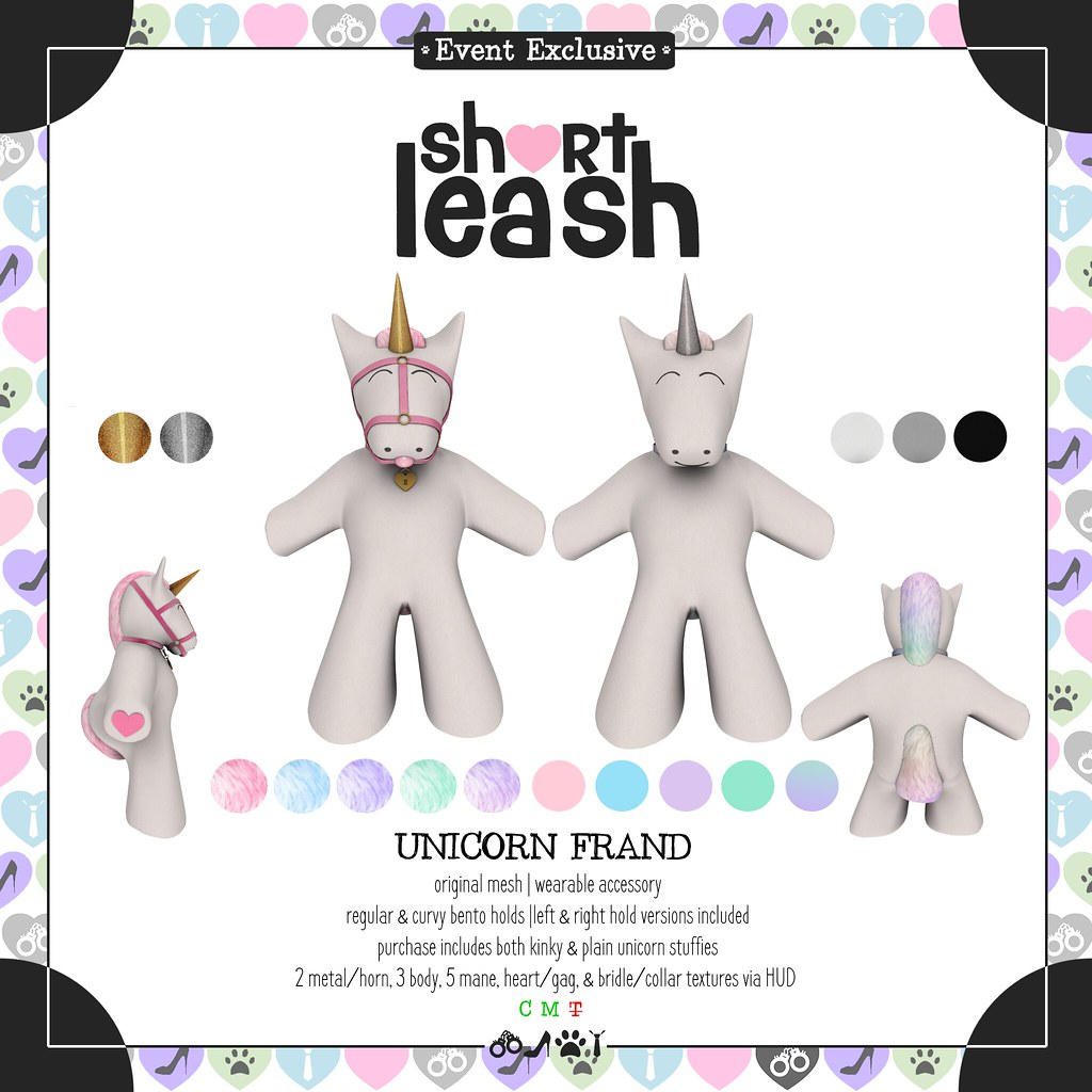 .:Short Leash:. Unicorn Frand