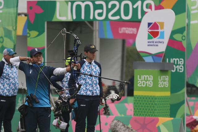 Arqueros Zebadúa y Del Cid logran plata en Lima 2019
