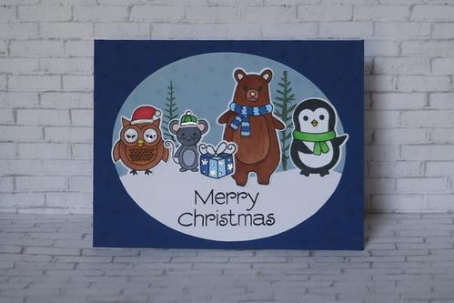 Hero Arts Holiday Animals