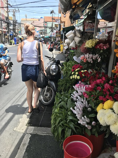 Walking our street in Patong