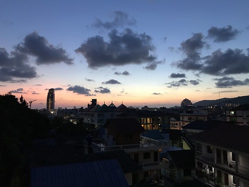 Sunset over Patong