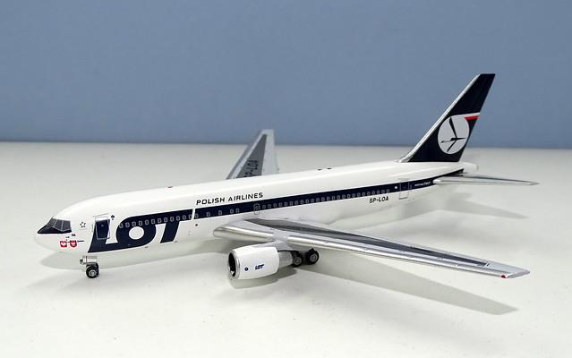 LOT Poland Boeing 767-200 SP-LOA