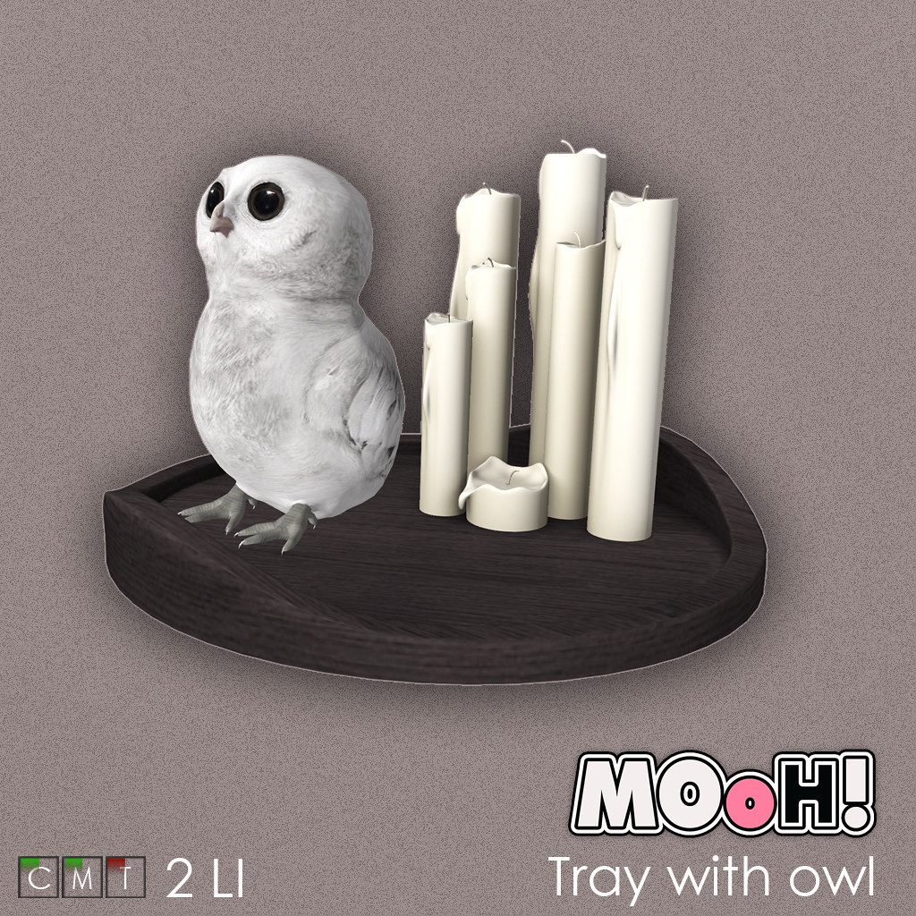 MOoH! Tray with owl
