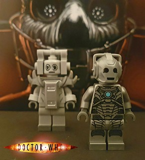 Cyberman. 70s and 00s