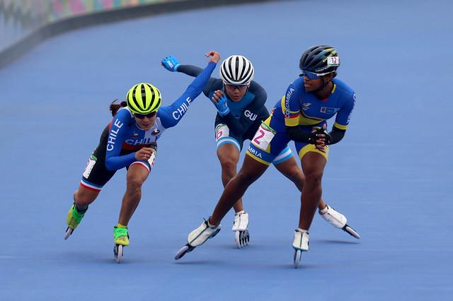 Medalla de plata, Dalia Soberanis 500 metros, Lima 2019