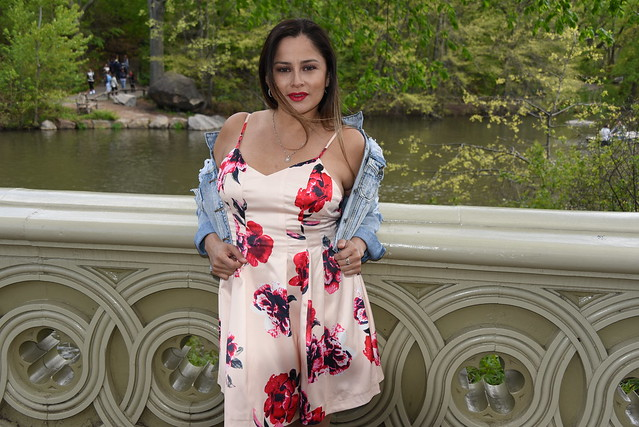 Picture Of Carolina Taken During A Cherry Blossom Photo Shoot In Central Park In New York City. Photo Taken Saturday April 27, 2019